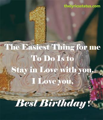 happy birthday quotes with cake