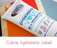 creme hydratante Labell