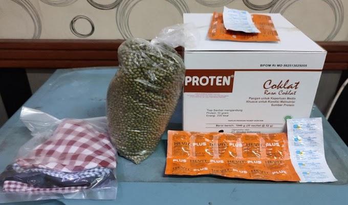 BPBD Kabupaten Serang Salurkan Paket Vitamin untuk Warga yang Isoman
