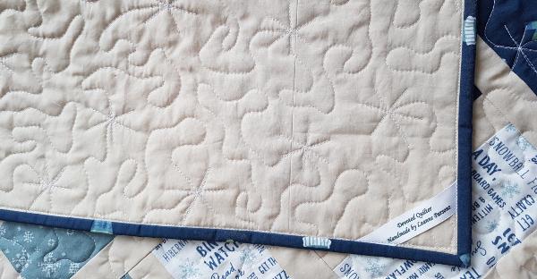 Snow Day Sparkler quilt | DevotedQuilter.com