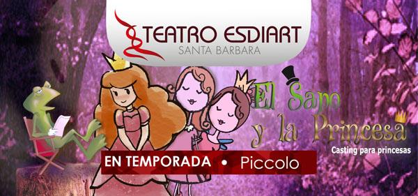 Obra-sapo-princesa-Teatro-Esdiart-Santa-Bárbara