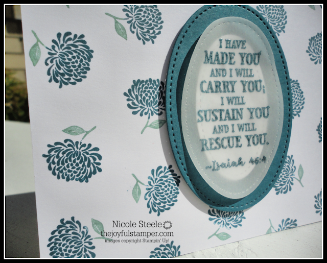Stampin' Up!'s Hold On To Hope Simple Stamping card