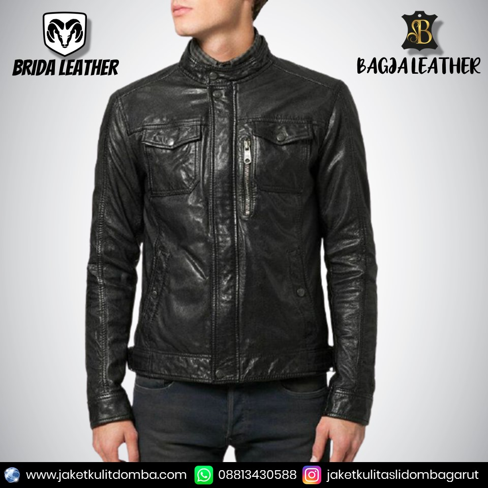 baju jaket kulit