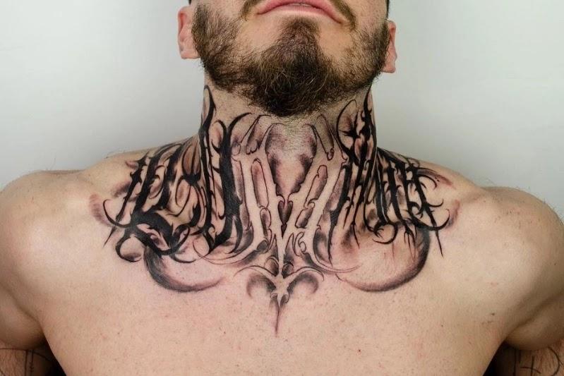 All- Round Neck tattoo designs