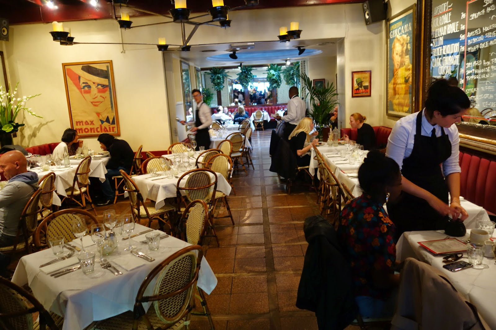 french brasserie chairs poang chair covers silverspoon london - a luxury lifestyle and travel blog : palm court you can't beat ...