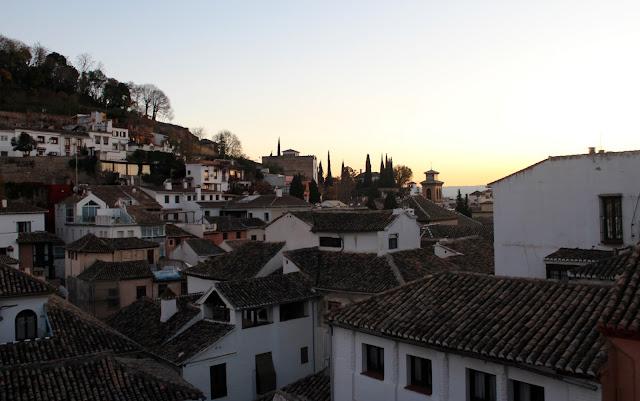 Barrio del Albaicín en Granada