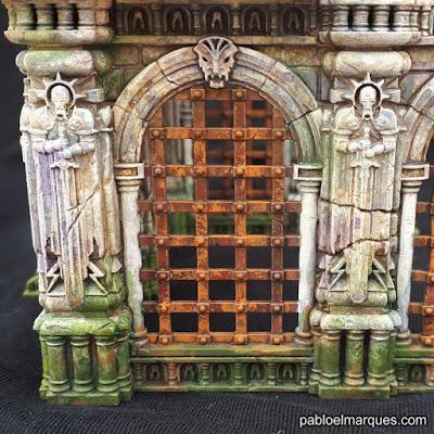 Warcry escenografia: Rejas oxidadas