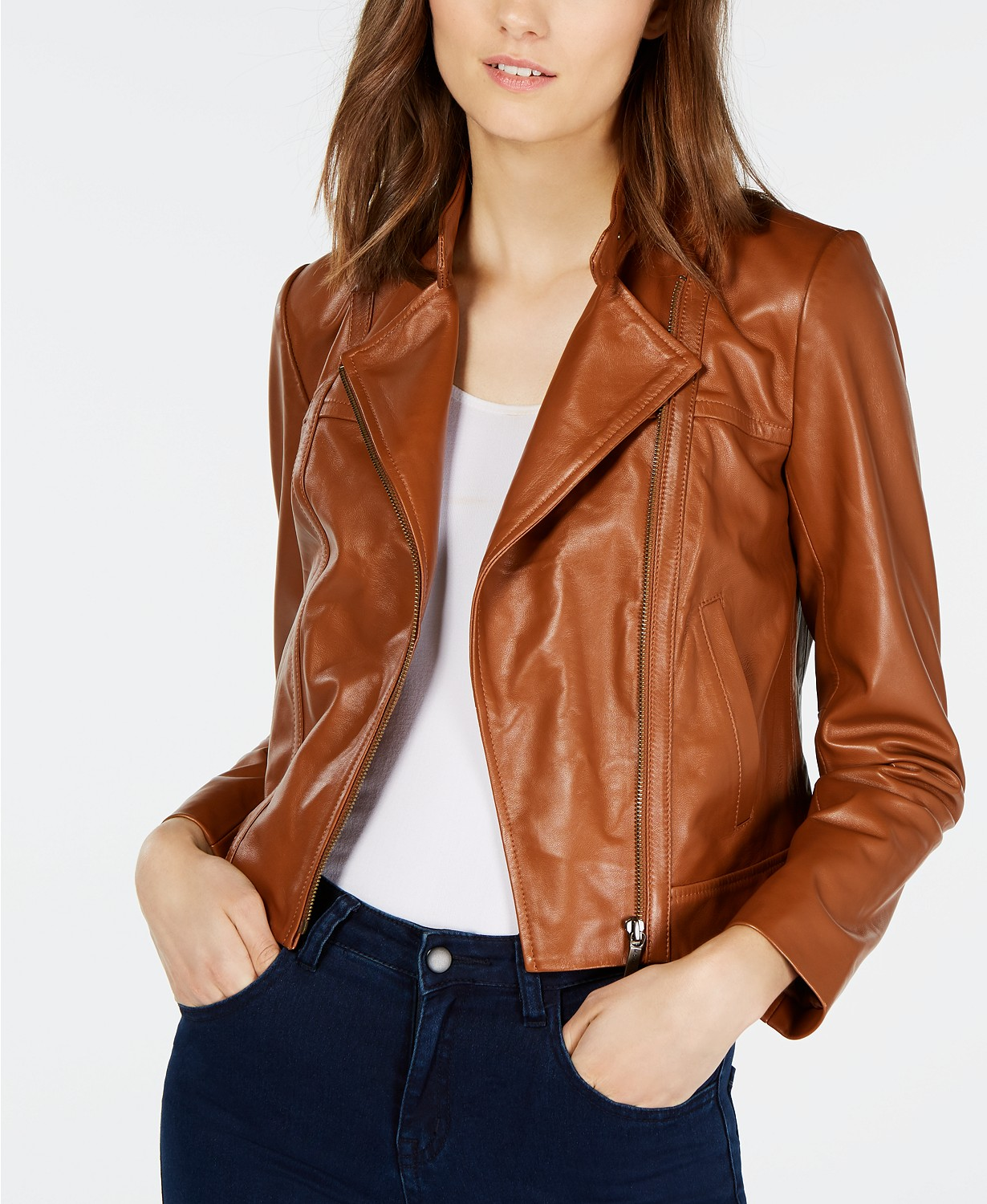 https://www.macys.com/shop/product/michael-michael-kors-leather-moto-jacket-regular-petite-sizes?ID=4943862&CategoryID=120&isDlp=true&swatchColor=Luggage#fn=sp%3D1%26spc%3D2268%26ruleId%3D136%7CBOOST%20ATTRIBUTE%7CBOOST%20SAVED%20SET%26kws%3Dmichael%20kors%26searchPass%3DexactMultiMatch%26slotId%3D18