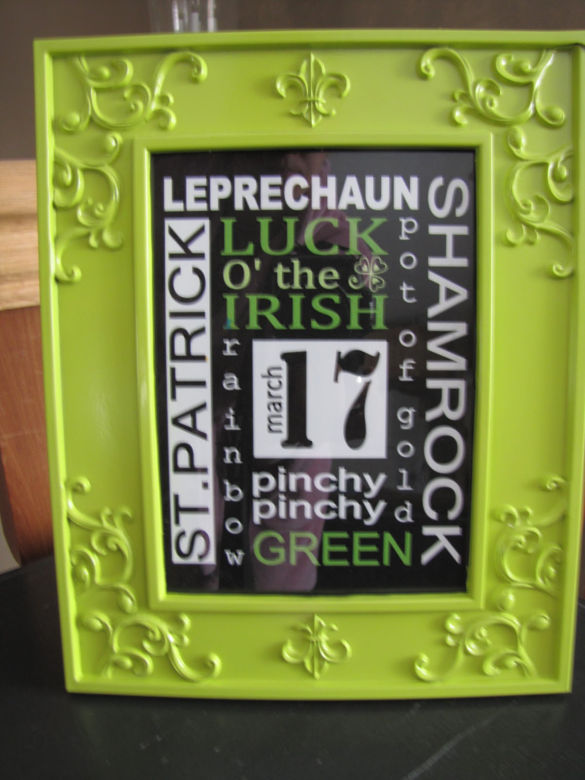Sustainably Chic Designs St Patricks Day Decor Dollar