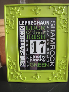 Sustainably Chic Designs St Patricks Day Decor Dollar Tree Style