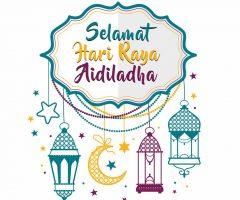 Salam AidilAdha 10 Zulhijjah 1441H