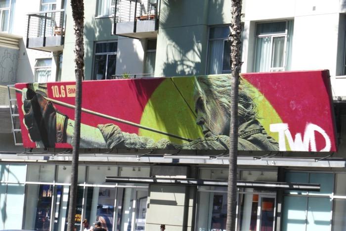 Walking Dead season 10 Carol billboard