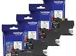 Free Brother Ink Cartridge Set
