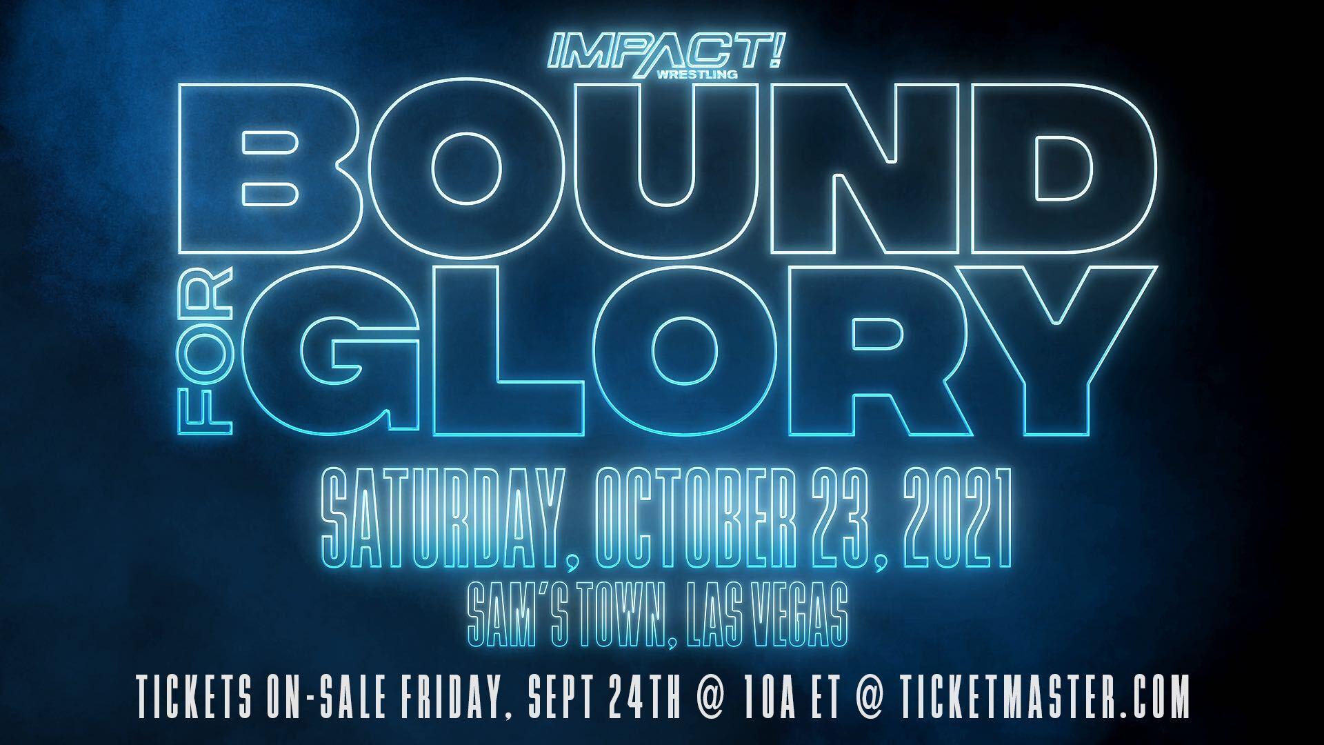 Definido o evento principal do IMPACT Bound for Glory (Spoilers)