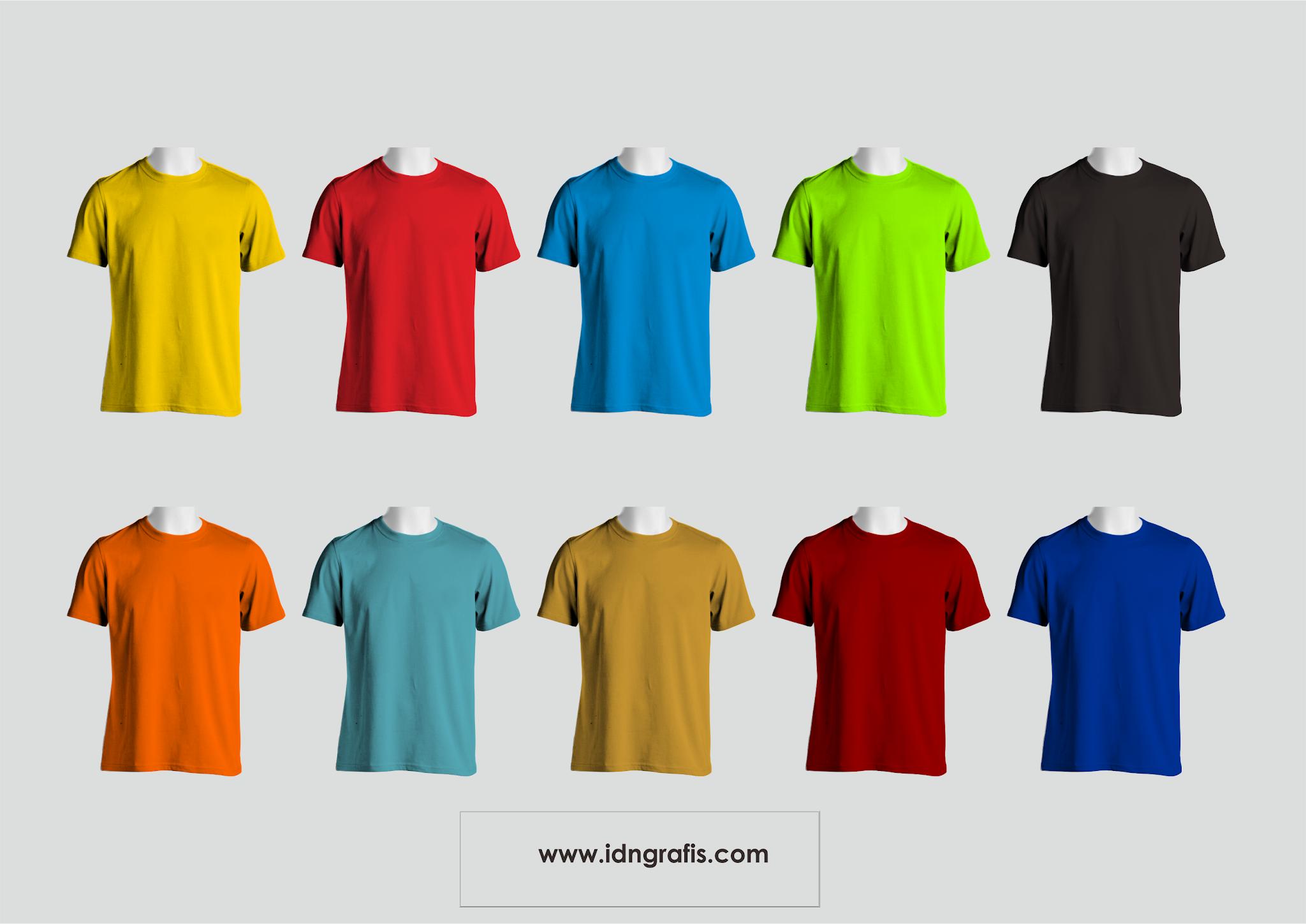 1551 best t shirt mockup vector ✓ free vector download for commercial use in ai, eps, cdr, svg vector illustration graphic art design format. Mockup Kaos Corel Draw Bisa Ganti Warna Idn Grafis