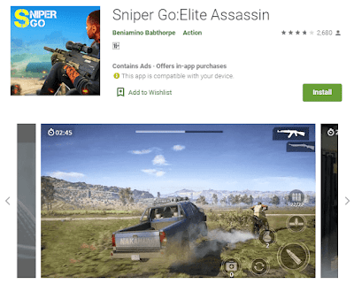 game sniper go android