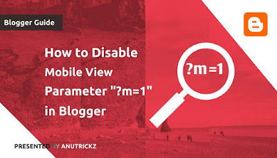 How to Disable Mobile View Parameter