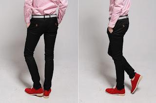 Celana Panjang Pria Model Korea Formal Terbaru Mei 2016