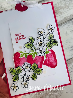 Stampin Up! Sweet Stawberry