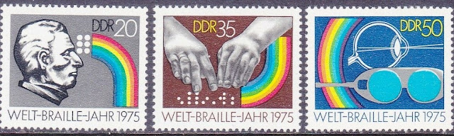 Germany DDR 1975 World Braille Year