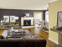 Warm Grey Living Room Colors