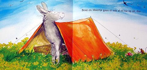 Zullen we spelen, Bout?  Children's Book by Nicole de Cock