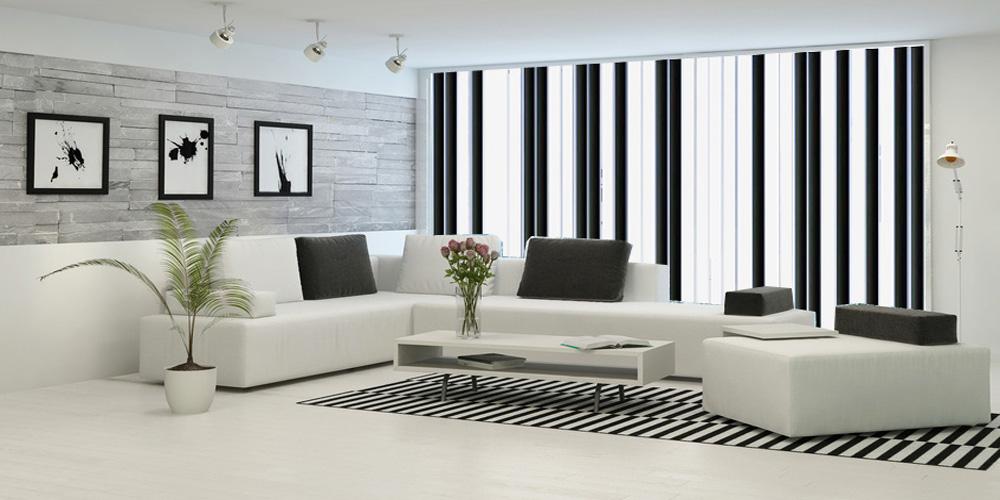 Cómo son las cortinas verticales Screen MN-P3000 | El Telar de Pastrana