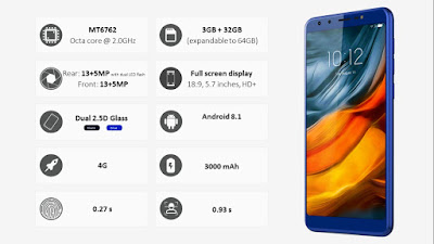 Lenovo K9 smartphone