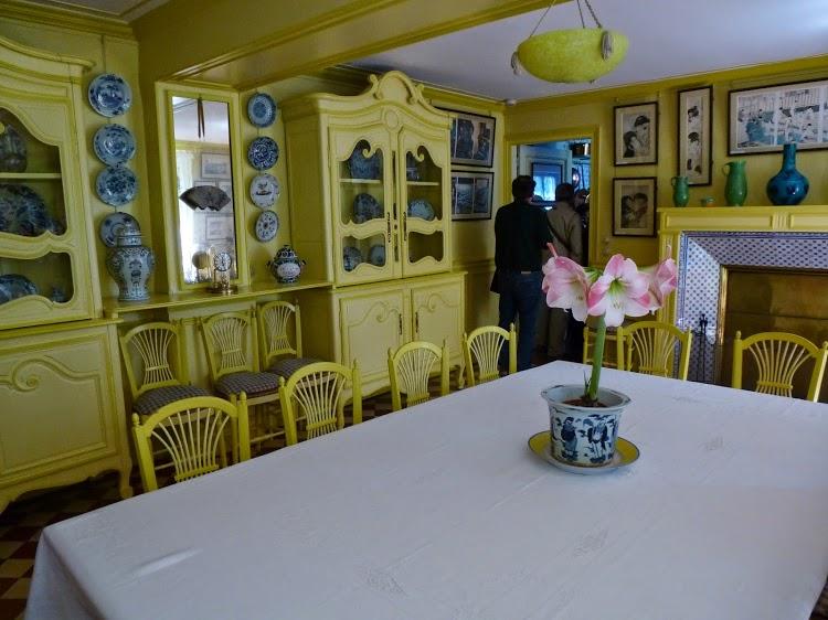 salle à manger à giverny