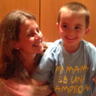 """Enfermedad de Pelizaeus Merzbacher. La historia de Claudia y Miguel, el """"fenómeno"""""""