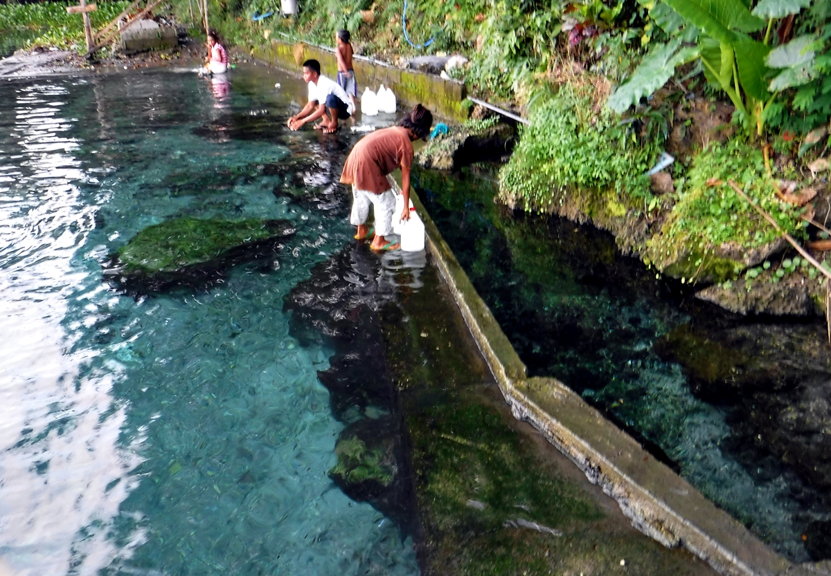 Hundred Step Springs in Maguindanao