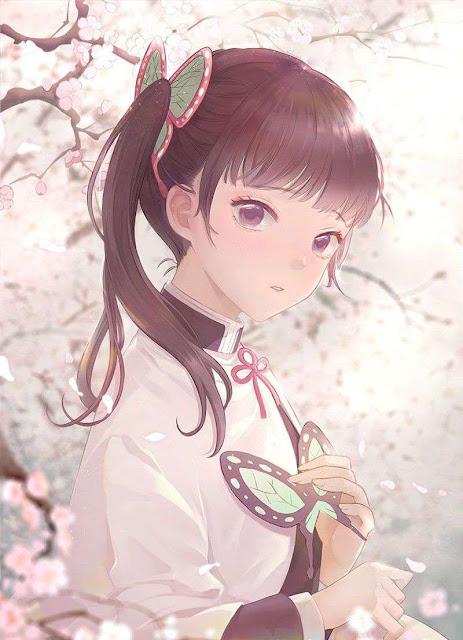 kanao tsuyuri demon slayer sakura