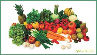 Makanan sehat baik untuk tubuh kita