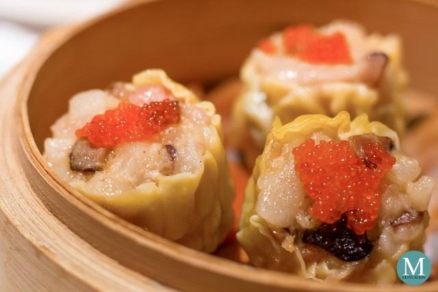 Steamed Pork and Shrimp Dumplings at Shang Palace, Shangri-La Hotel Wuhan