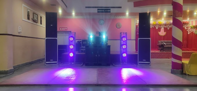 Dj System at Maurya palace Night show