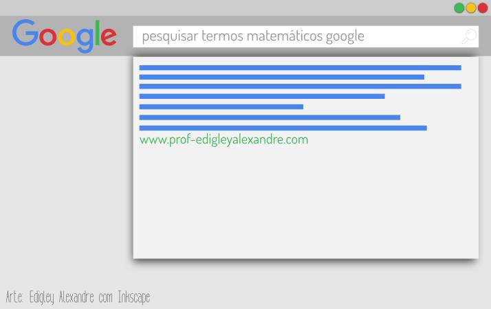 Como pesquisar termos matemáticos com mais rapidez no Google