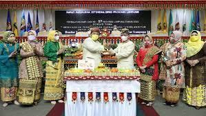 DPRD Gelar Rapat Paripurna HUT Lampung ke-57