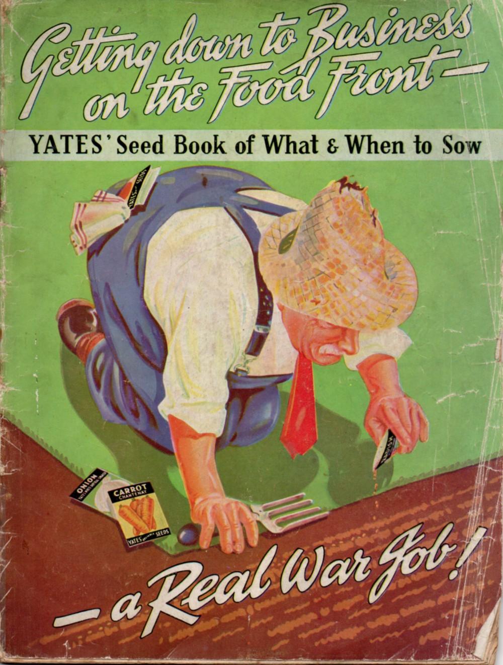 katiecrackernuts.blogspot.com || wartime 1944 Yates Garden Guide