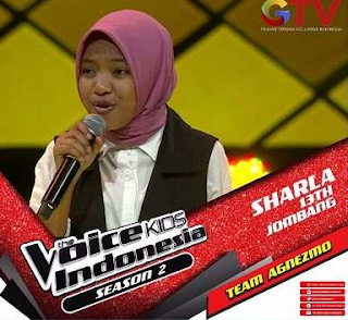Download Sharla Martiza (The Voice Kids Indonesia) Mp3