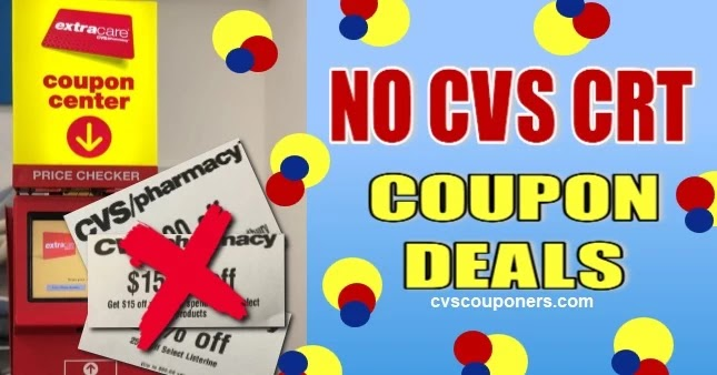 No CRT CVS Coupon Deals this week