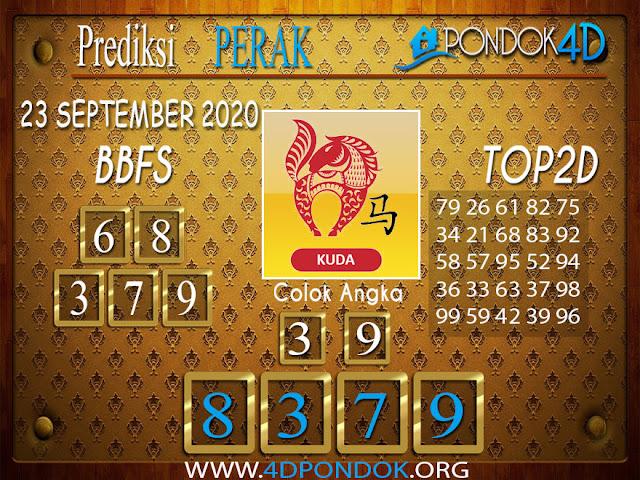 Prediksi Togel PERAK PONDOK4D 23 SEPTEMBER 2020