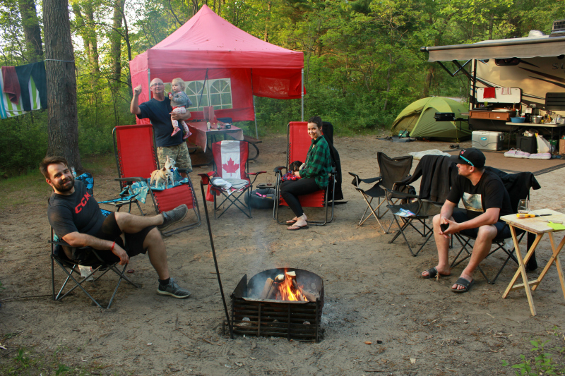 Camping at Pinery Provincial Park