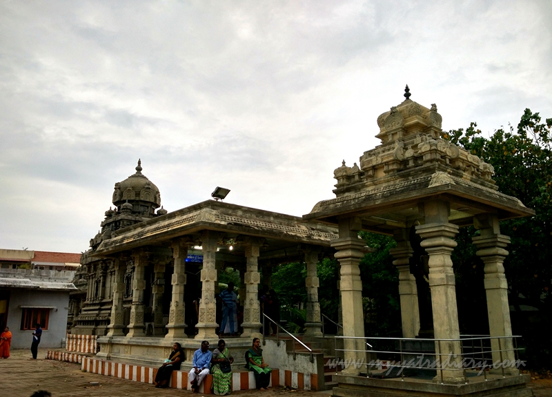Arupadai Veedu Murugan Temple compound, Chennai, Tamil Nadu