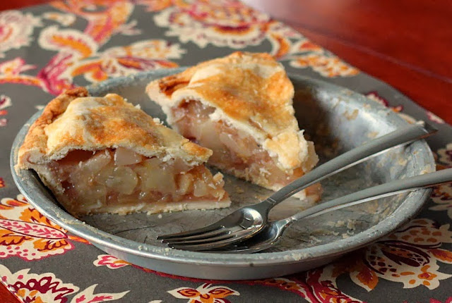 pear pie maple ginger