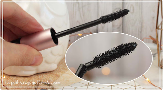 mascara inclinable pour facilité le maquillage