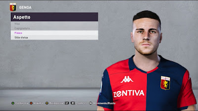 PES 2020 Faces Paolo Ghiglione by Andò12345
