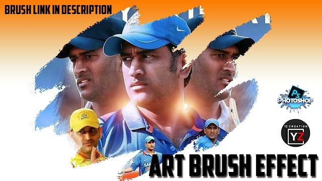 potrait artbrush effect tutorial yzcreation - photoshop tutorial |yzcreation