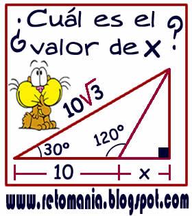 Cuadrados mágicos, Descubre el número, El número que falta, Retos para pensar, Problemas matemáticos, Retos matemáticos, Desafíos matemáticos, Retos de lógica, Problemas para pensar, Funciones trigonométricas, Triángulo rectángulo