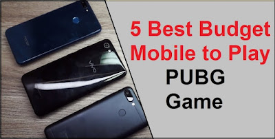 budget mobiles to Play PUBG