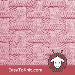 #KnitPurl 67: Basketweave stitch #EasyToKnit